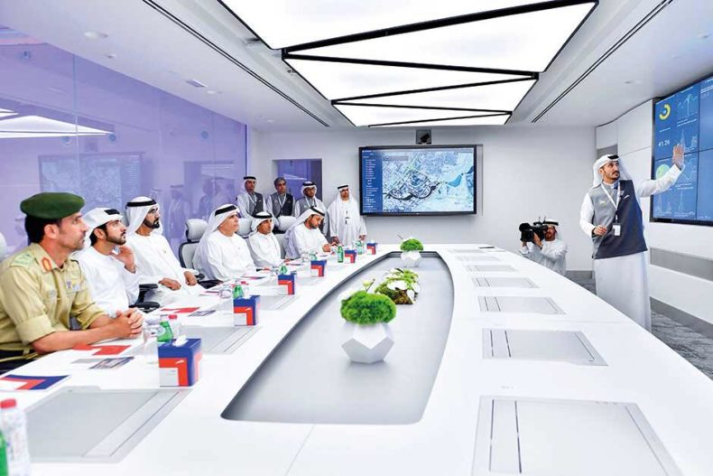 Arthur Holm's Dynamic3Share is in the landmark EC3 building in Dubai!