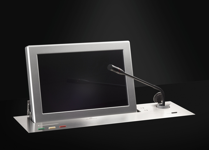 Dynamic2 motorised retractable monitor