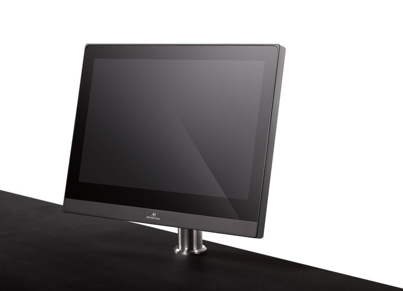 monitor for installation on desks or information counters
