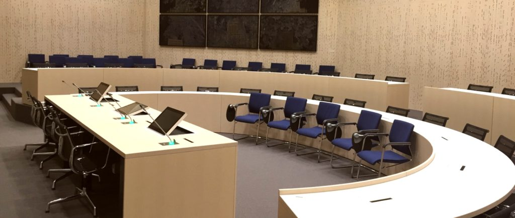 monitors and installations for auditoriums