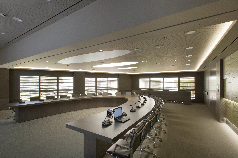 Bellissima nuova installazioni in una Board Room ad Atene, Grecia!