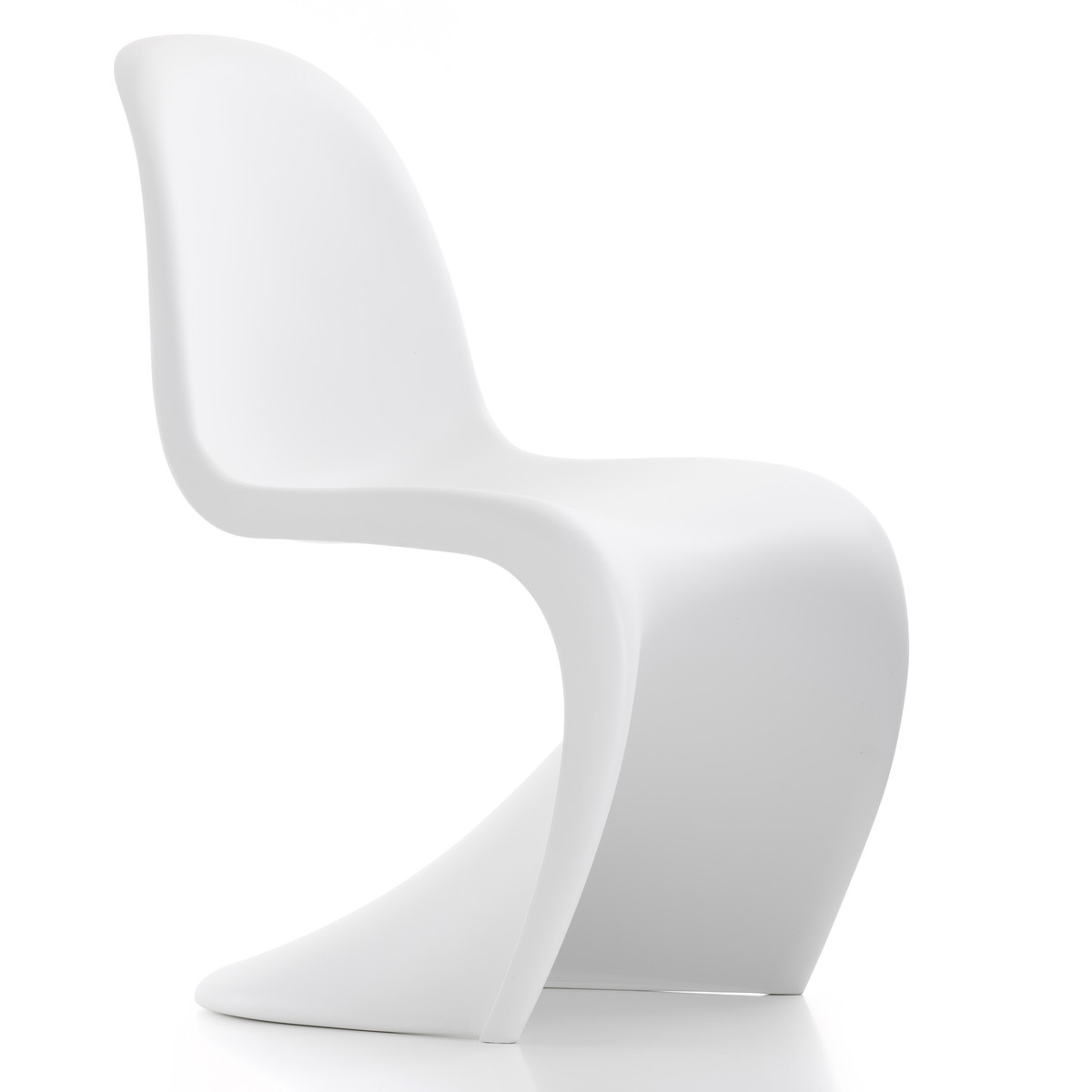 Panton Chair Weiss Frontal