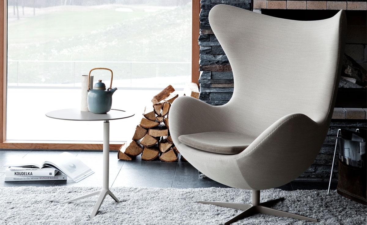Arne Jacobsen Egg Chair Fritz Hansen 16 Arthur Holm