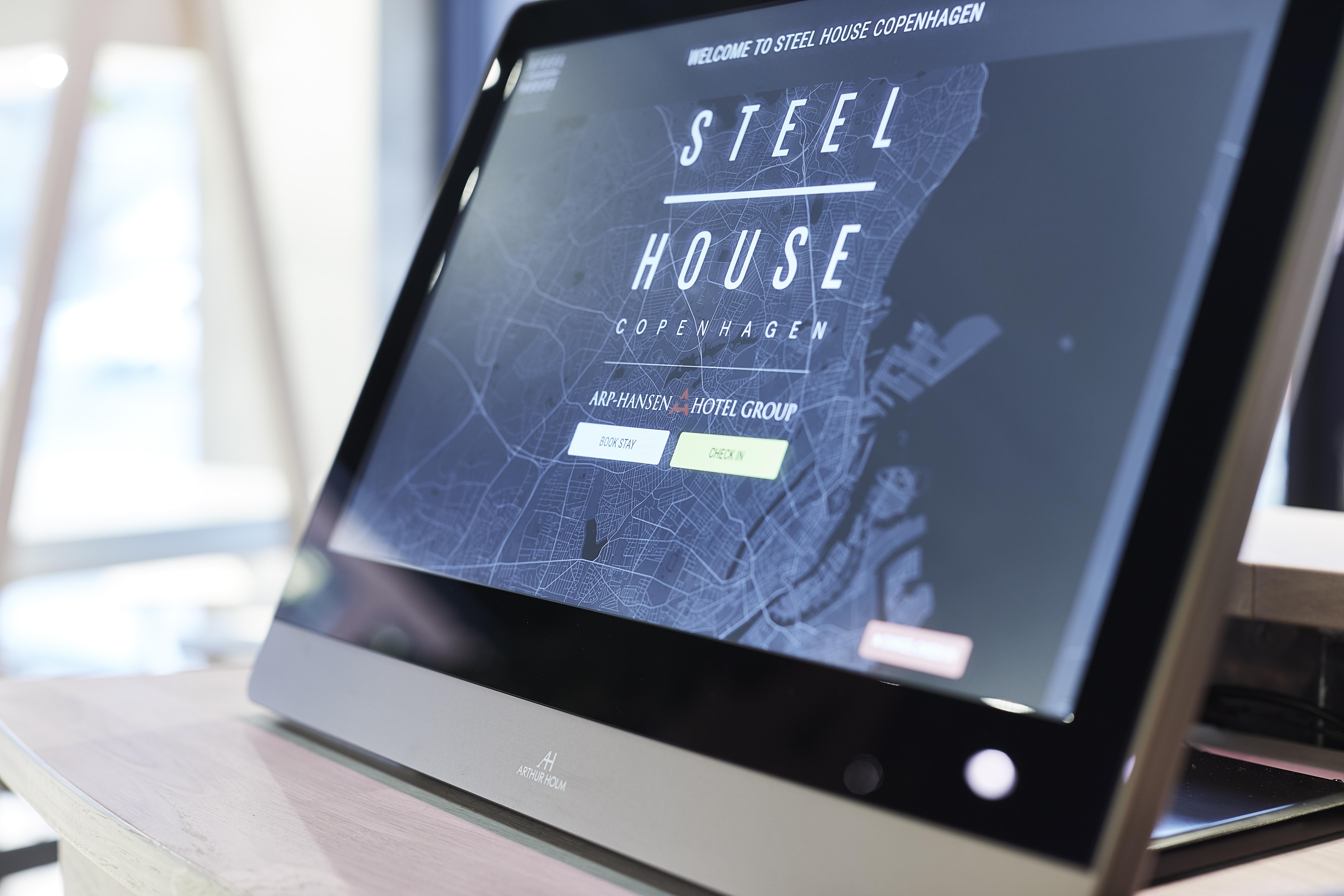 retractable monitors in hotels