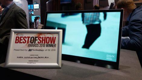 Best of Show Award Winner monitor