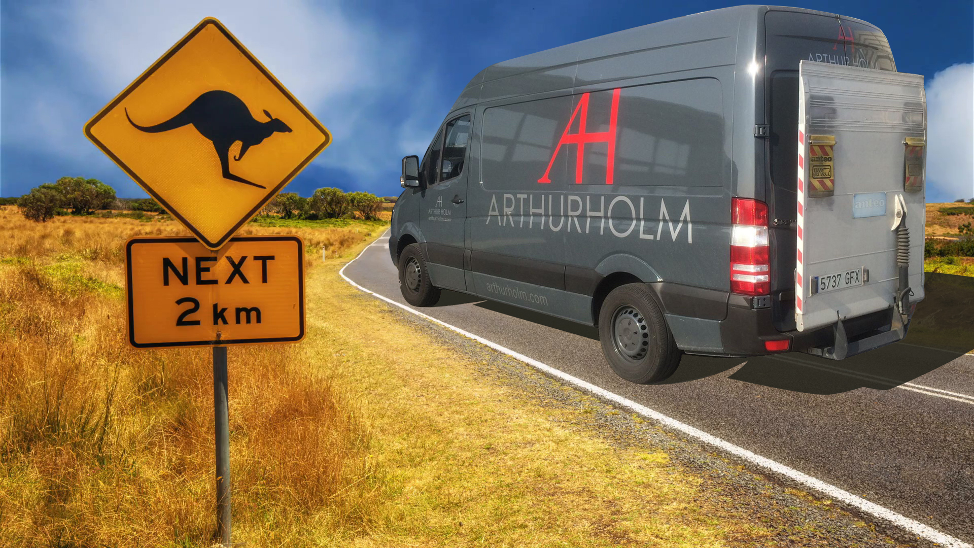 Arthur Holm in tour! Australia Roadshow 2018