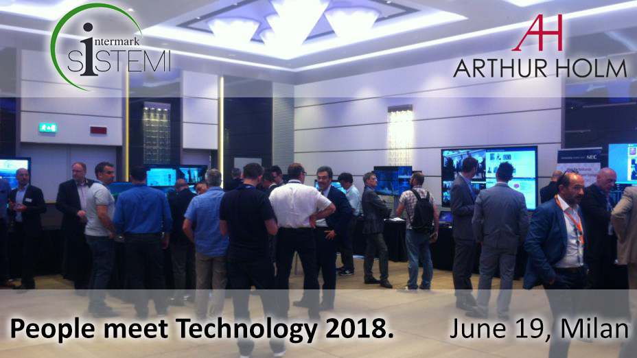 'People Meet Technology 2018', a remarkable show for the audiovisual sector in Italy