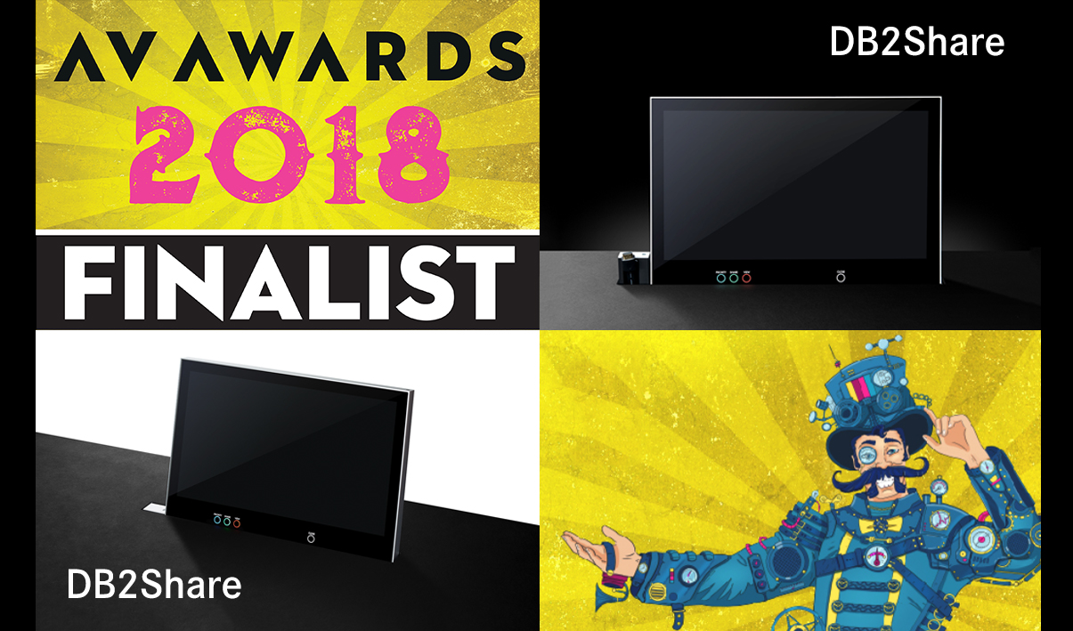 DB2Share shortlisted as a finalist for the AV Awards!