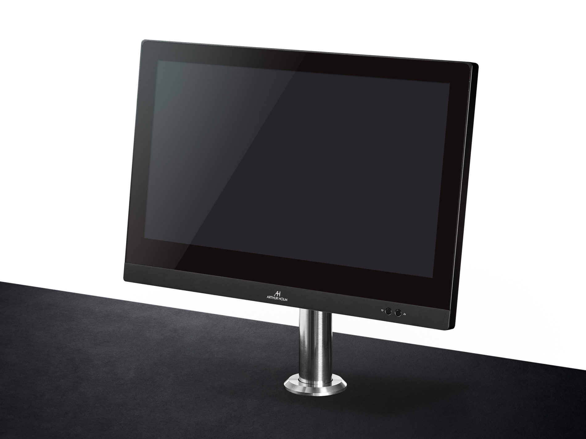 motorised adjustable monitor for a perfect fit