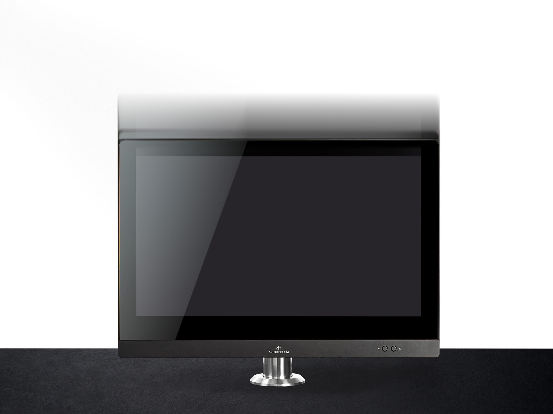 monitor for reception areas