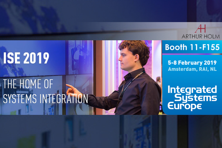 Arthur Holm at ISE 2019: improving the user experience with superb design!