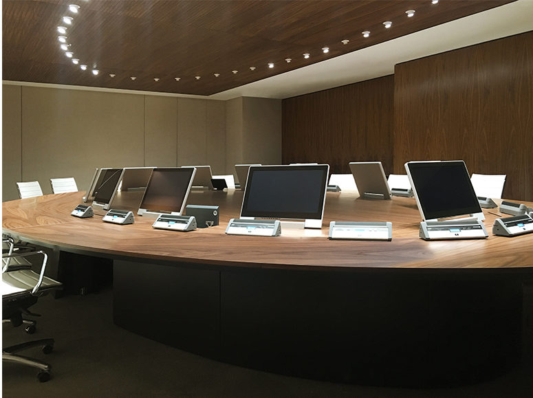 design monitors for boardrooms