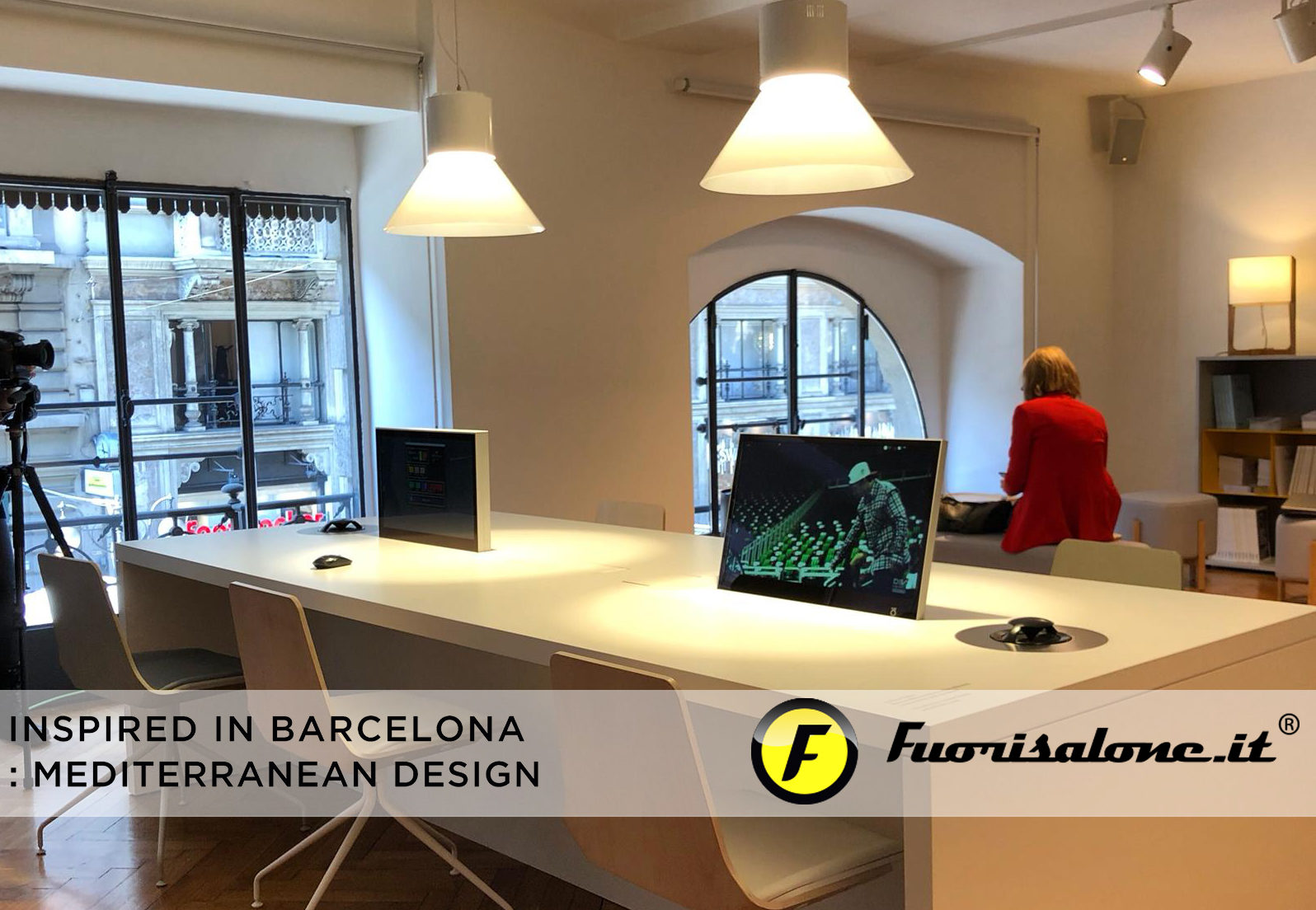 """Inspired in Barcelona: Mediterranean Design"", creativity from urban rhythms and colours"