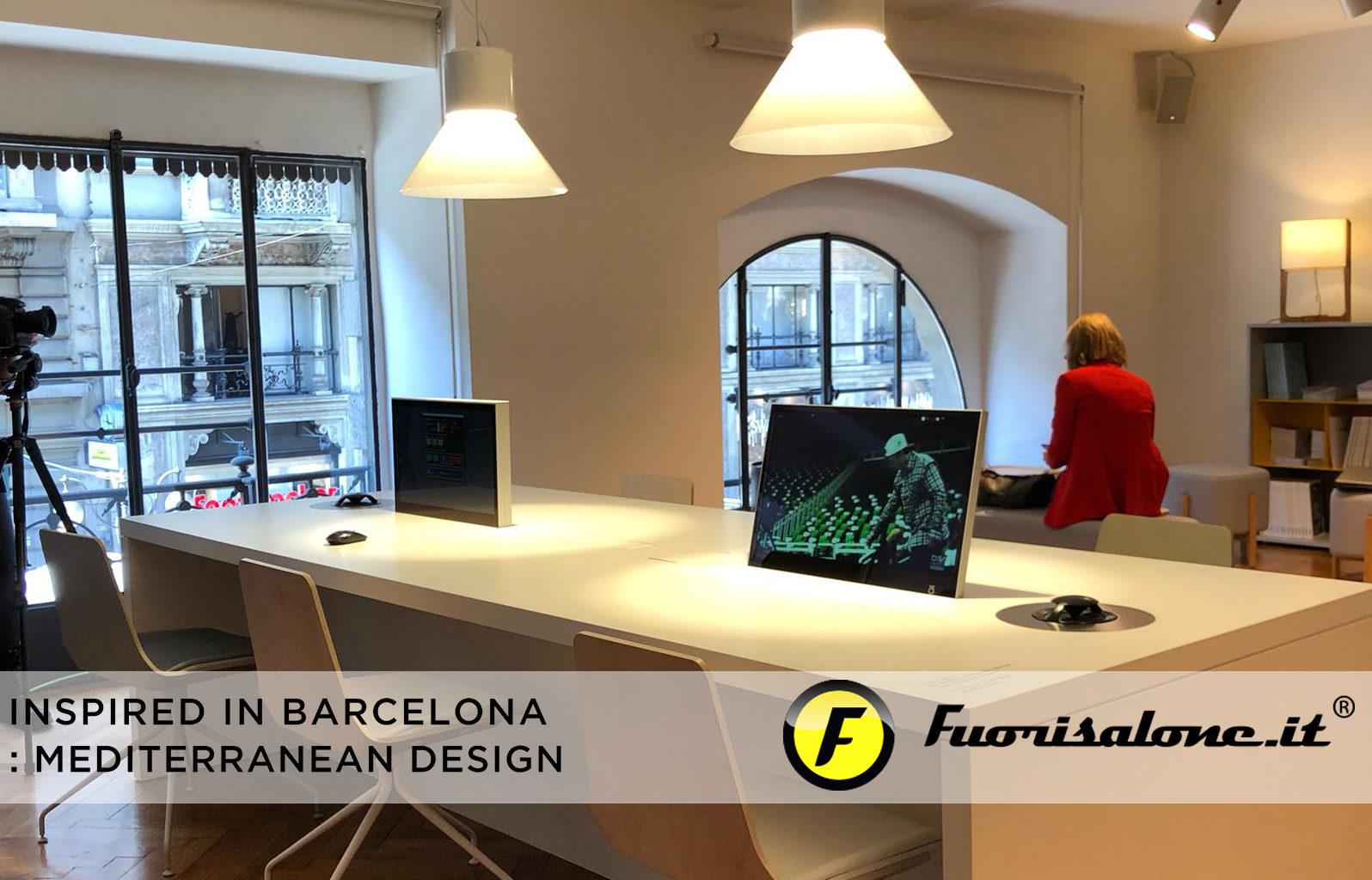 """""""Inspired in Barcelona: Mediterranean Design"""", creatividad de colores y ritmos urbanos"""