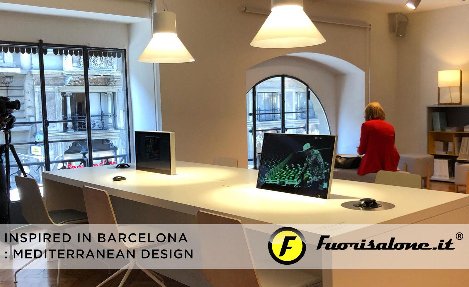 """Inspired in Barcelona: Mediterranean Design"", créativité des rythmes urbains et des couleurs"
