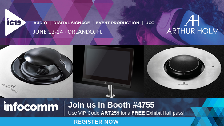 Visit us at InfoComm 2019 Orlando!