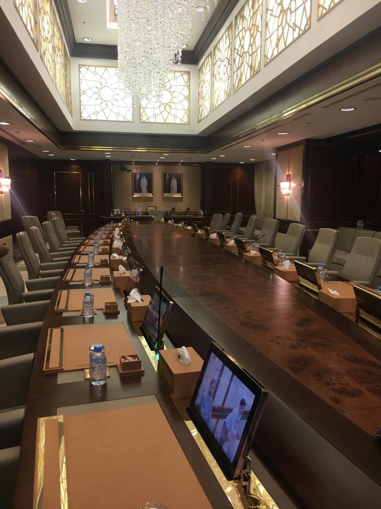 salle de réunion de luxe