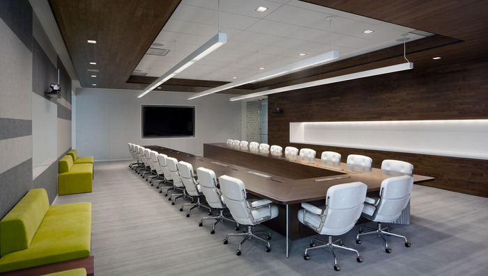 retractable technology for meeting rooms