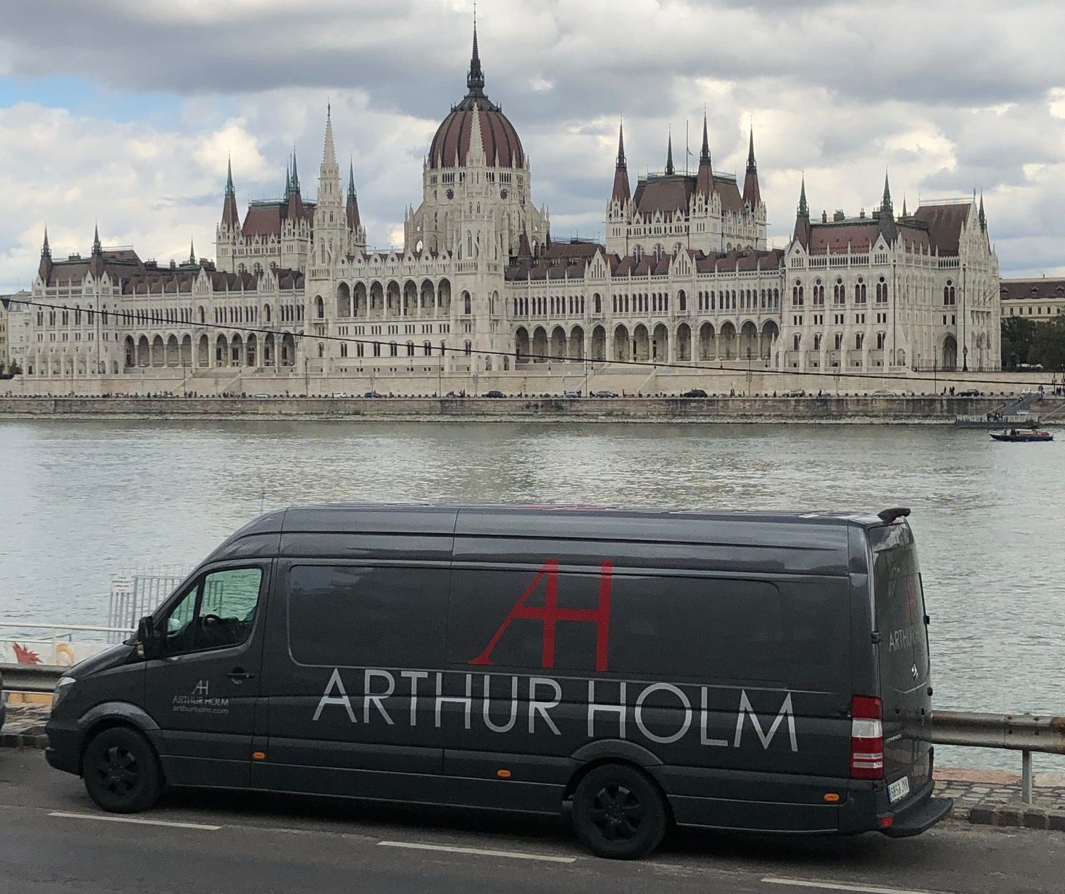 Arthur Holm on the road