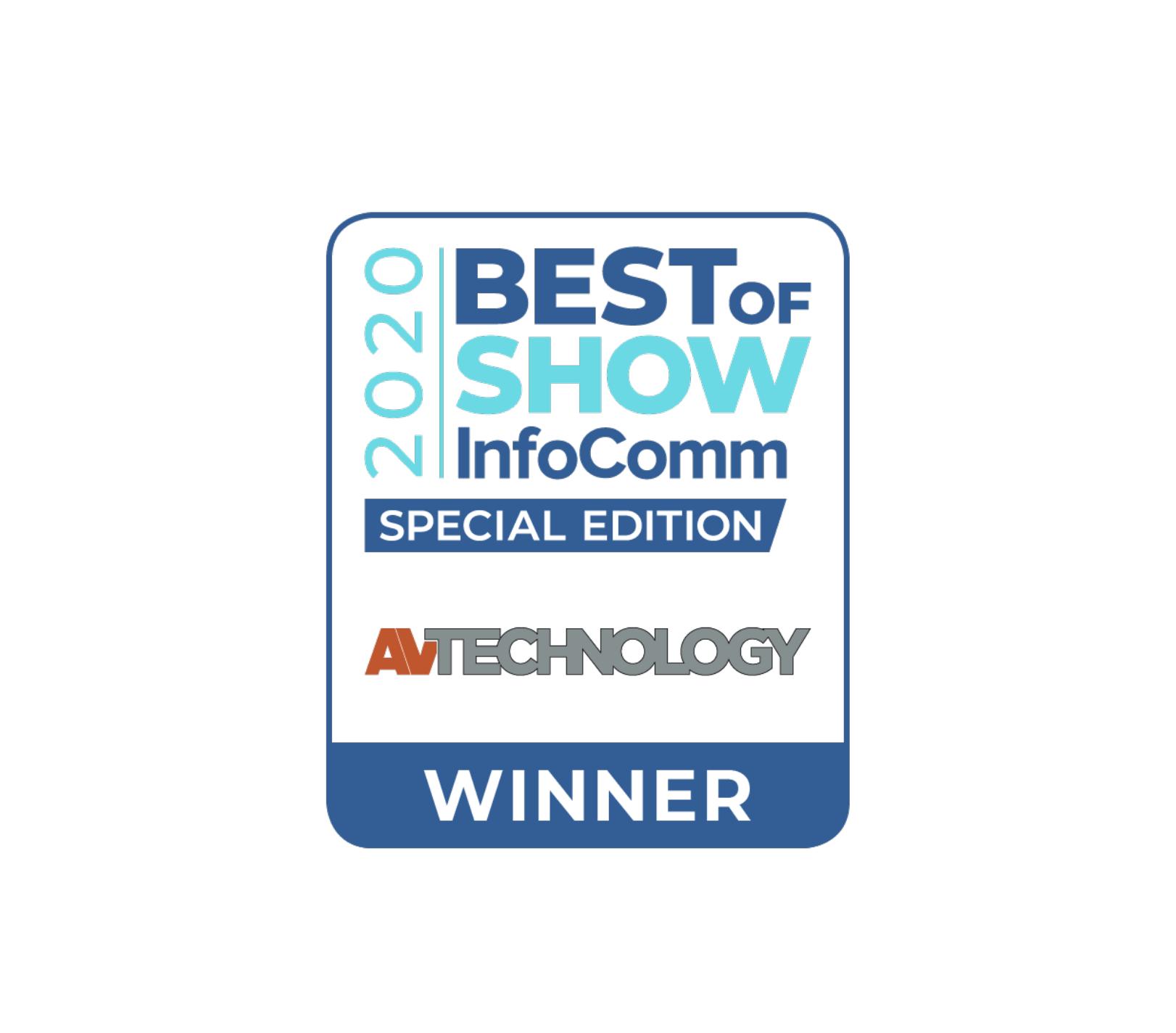 Dynamic4 de Arthur Holm gana el premio Best of Show, presentado por AV Technology