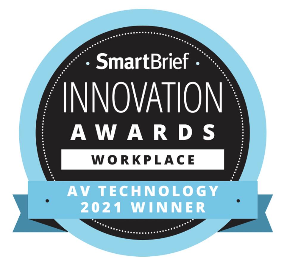 """El innovador Dynamic4 de Arthur Holm ha resultado premiado como """"Tecnología Emergente para el lugar de trabajo"""" por  la publicación """"AV Technology"""""""