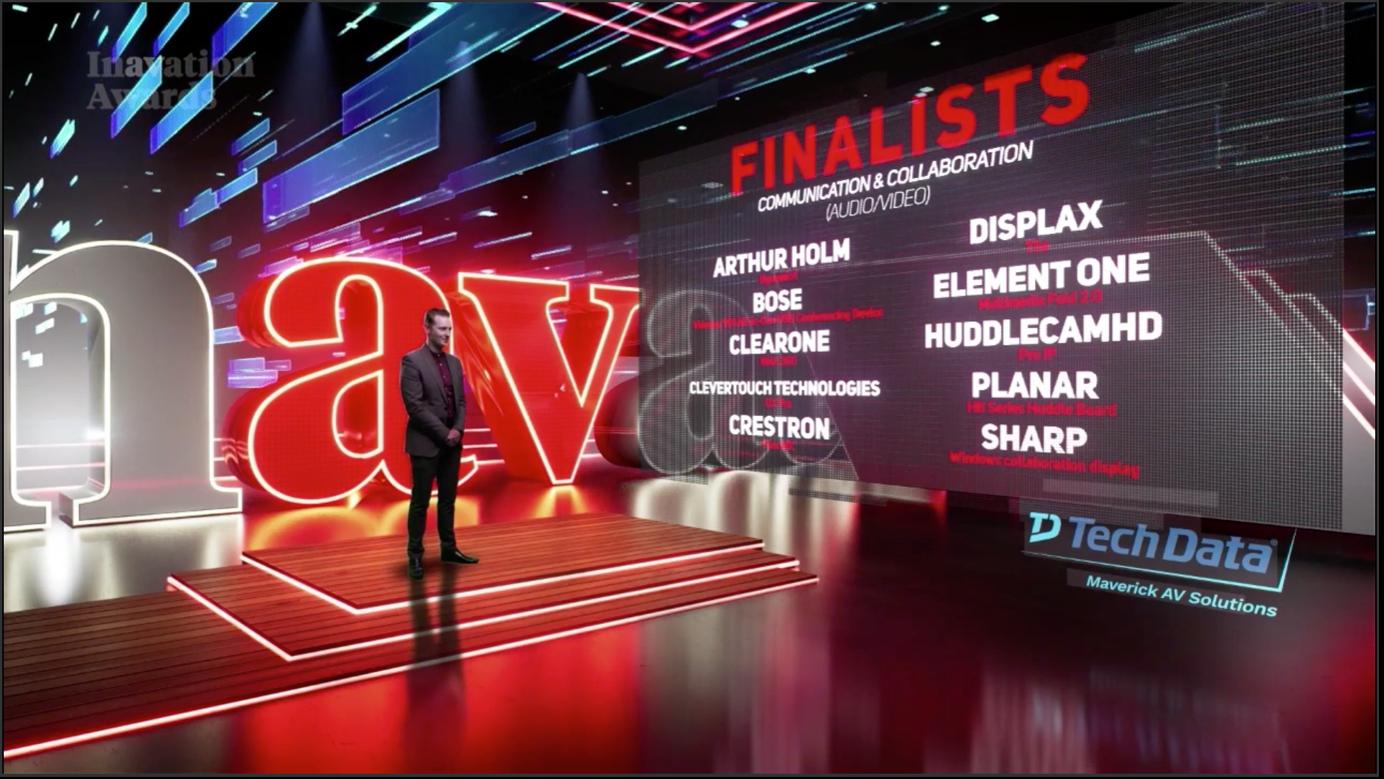 Dynamic4 récompensé comme produit AV de communication et de collaboration de l'année.